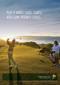CAMPAIGN - TNLA Poster: Barnbougle Lost Farm Golf Links, Bridport, TAS